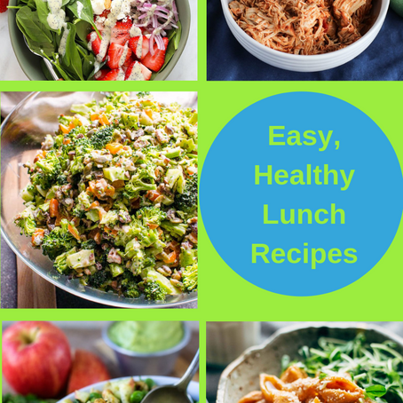 How To Make Easy, Healthy Lunches for Work