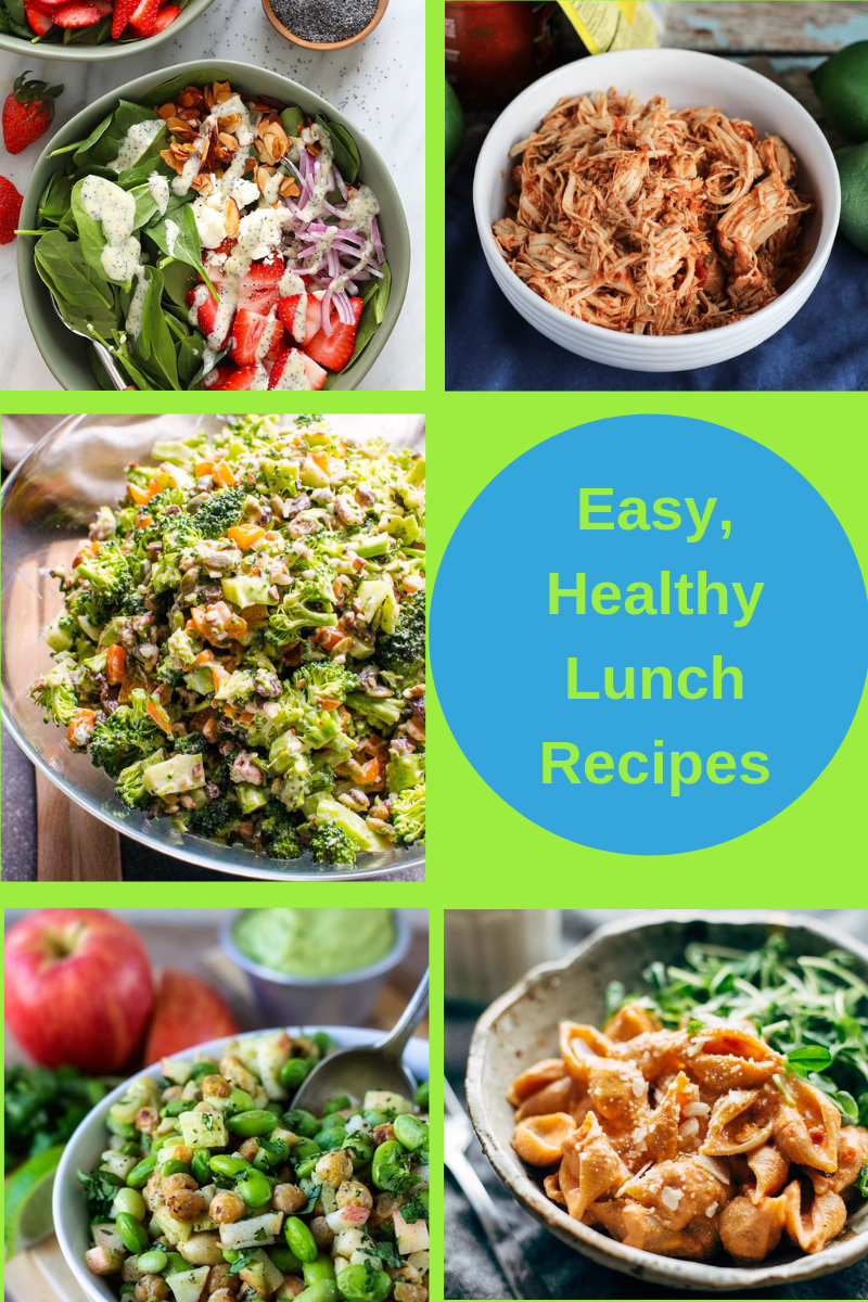 easy healthy lunch recipes