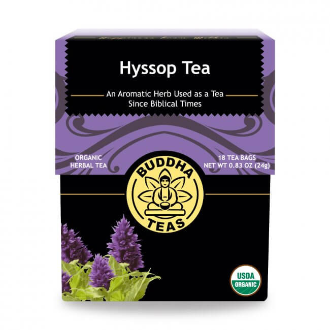 buddha tea hyssop tea for allergies