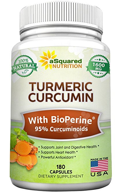 tumeric supplement from aSquared Nutrition