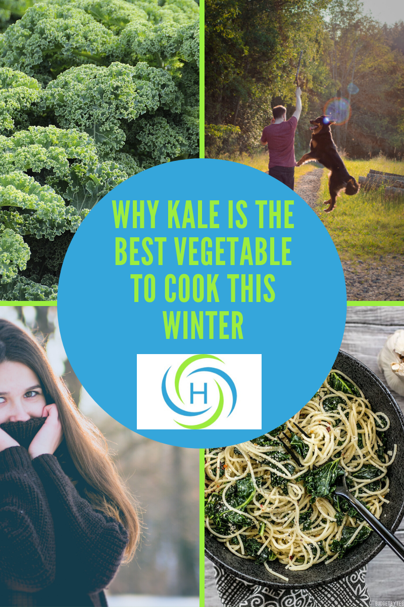 why kale is the best vegetable to cook with
