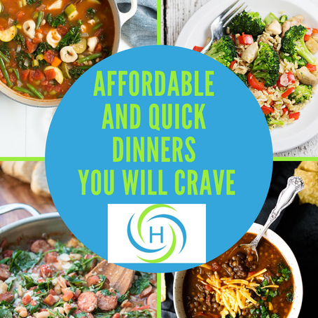 Affordable And Quick Dinners You Will Crave