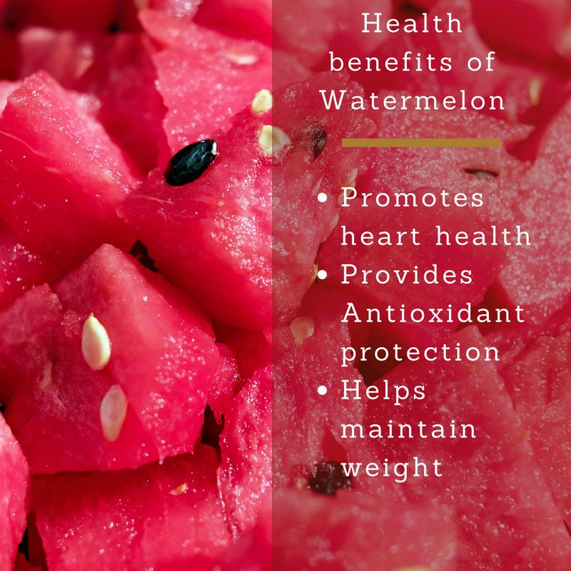 watermelon health benefits heart health weight management