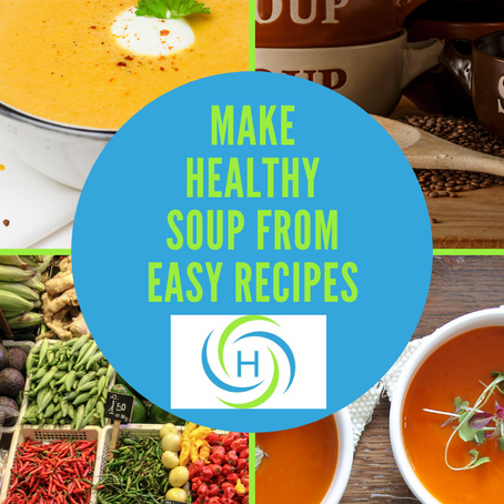 How To Make Healthy Soup From Easy Recipes