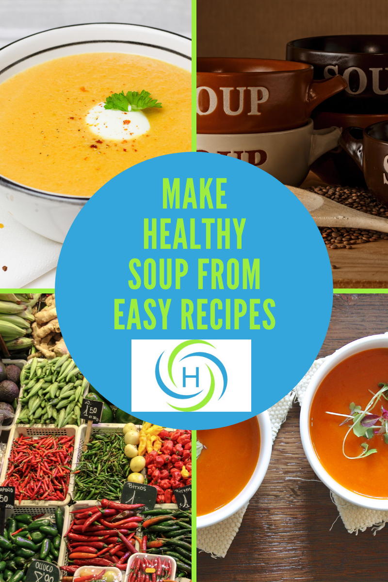 healthy soup from easy recipes