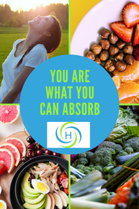 absorbing nutrients from food allows us to have energy and good health