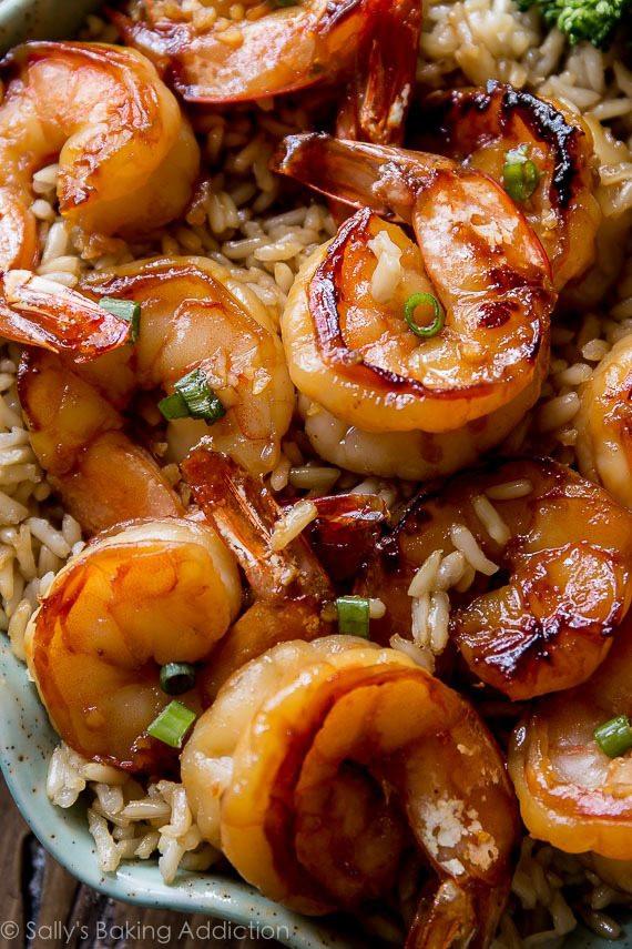 recipe honey garlic shrimp ready in 20 minutes