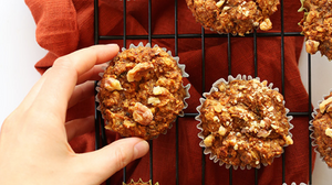 one bowl carrot muffins gluten free
