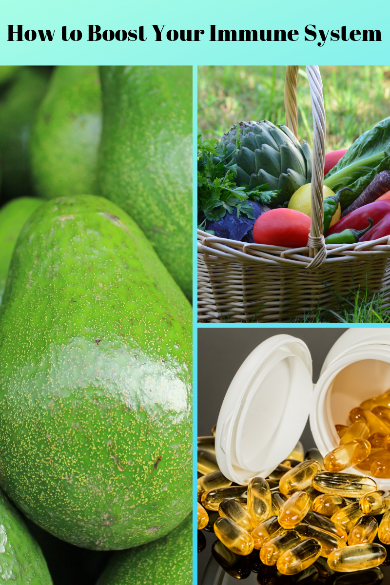 boost your immune system with green foods, organic foods and vitamins