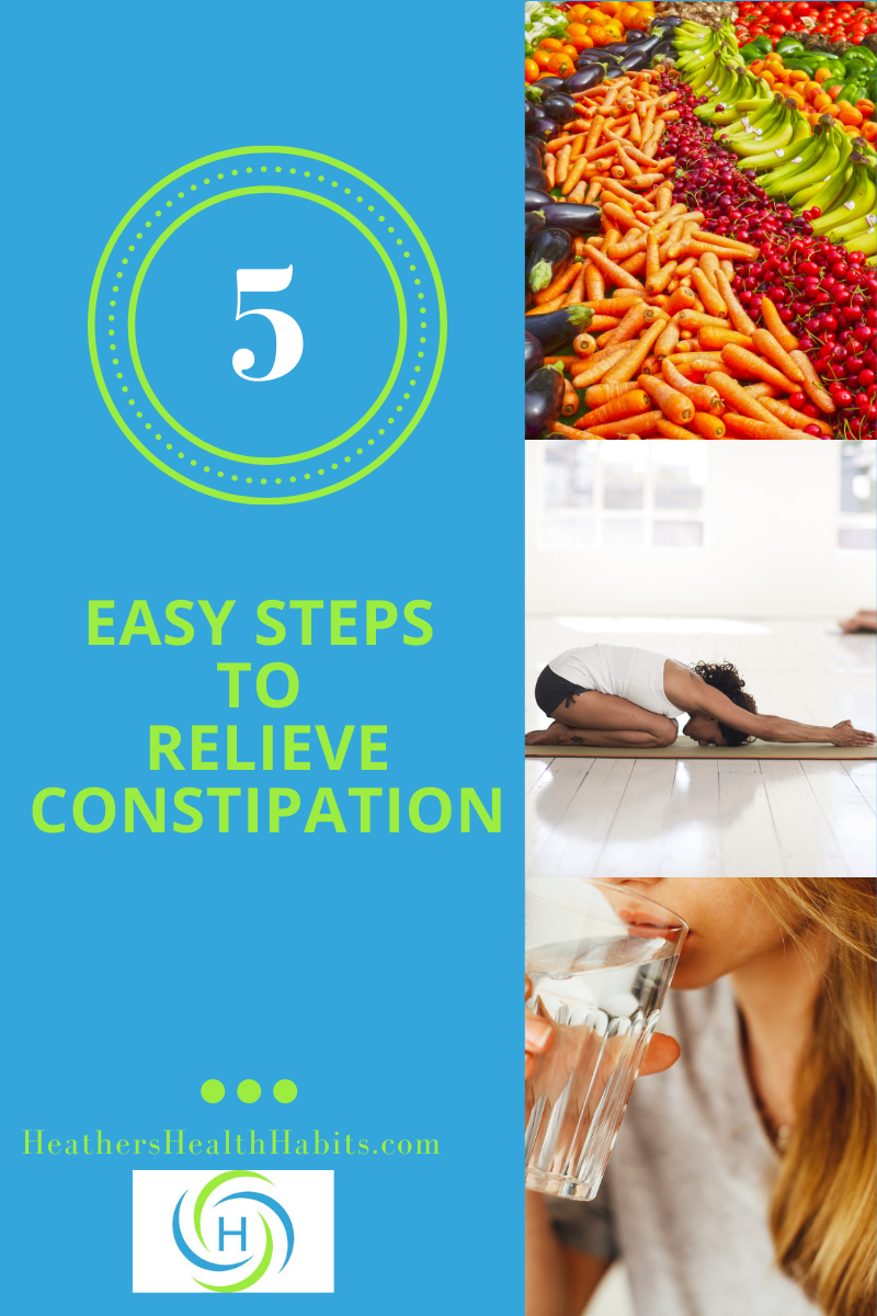 how to relieve constipation in 5 easy steps
