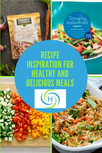 recipe inspiration for healthy, fast and delicious meals