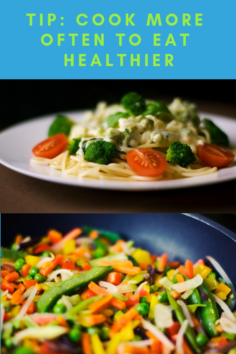 healthy dinners that were cooked at home