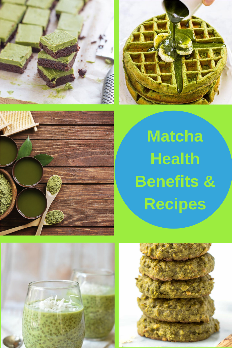 matcha health benefits and recipes
