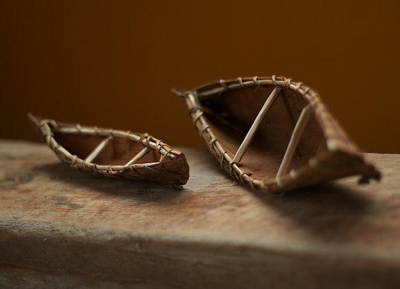 Dupla Canoas de Corteza