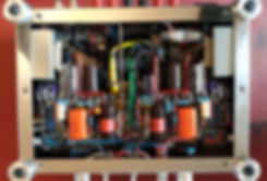 The Anniversary 2020 tube amplifier insi