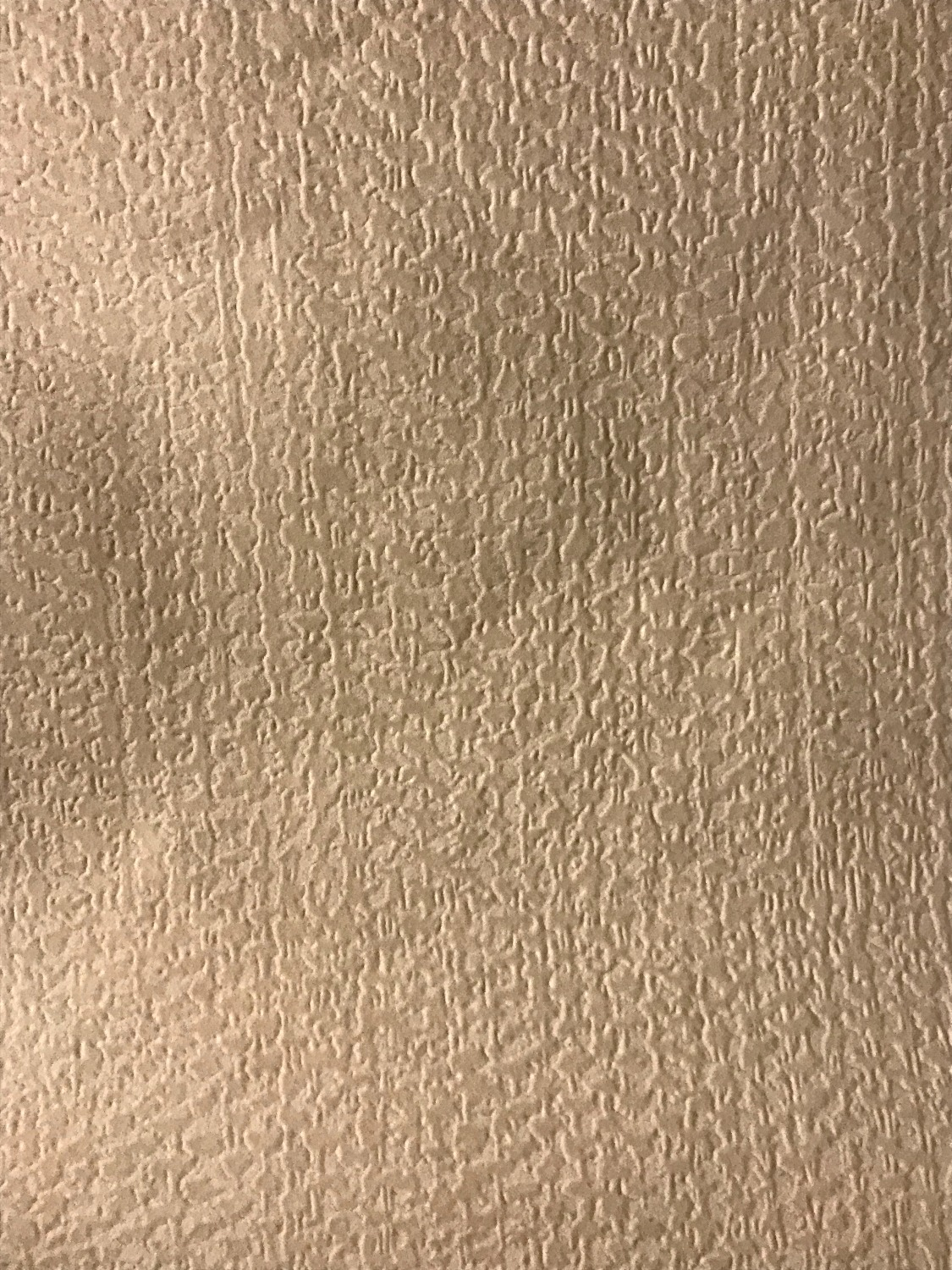 """GREIGE SECONDS FLOCKED FABRIC 58"""" WI"""