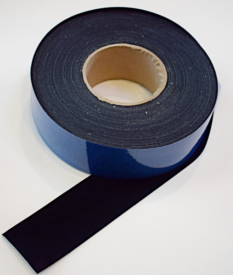 """2"""" x 60 ft Roll - Contrast Boosting Black Border Tape for Projector Screens - Flocked Velvet Fabric Frame Material - Premium Flock w/ Adhesive Backing - DIY"""