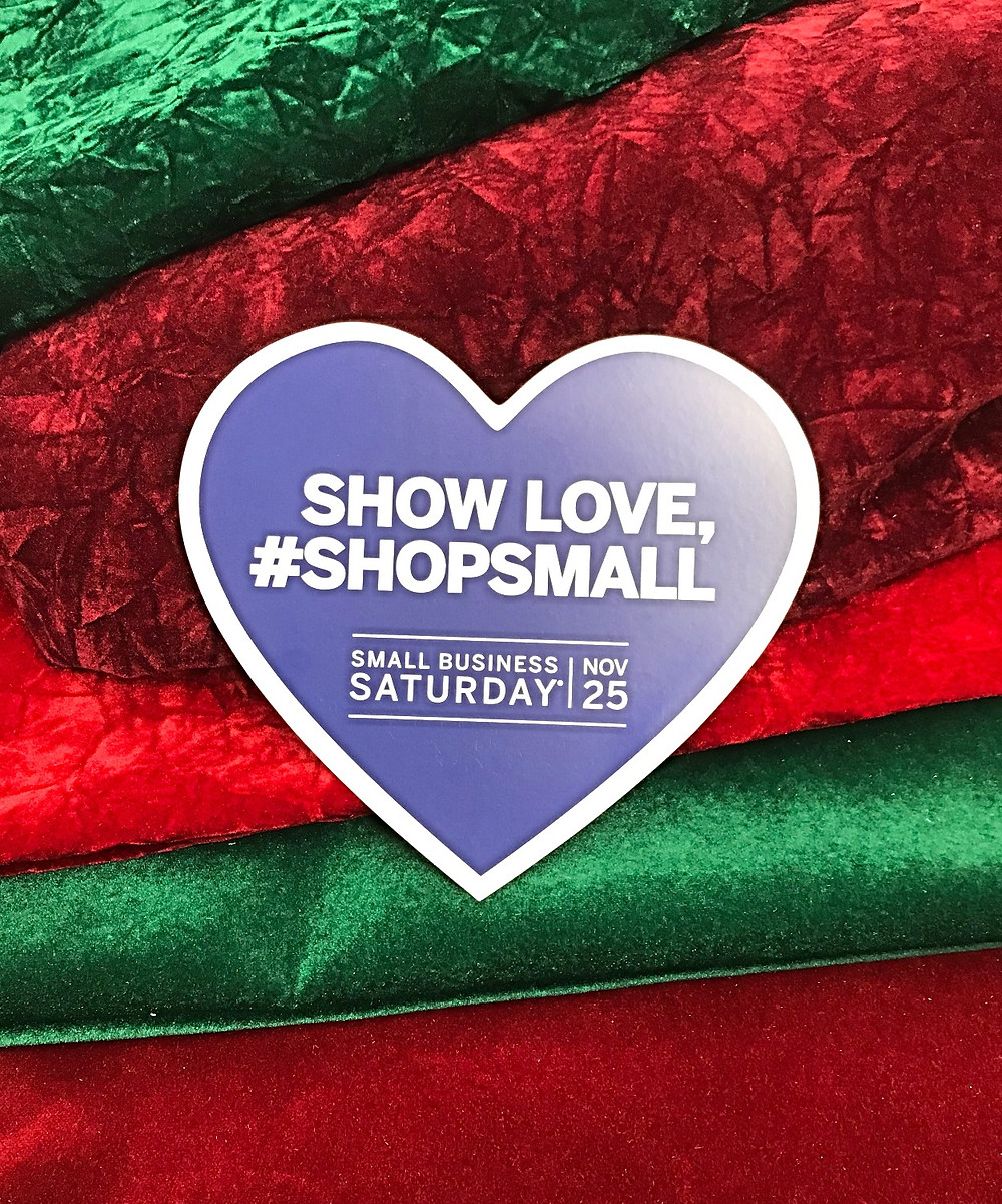 #shopsmall #smallbizsaturday