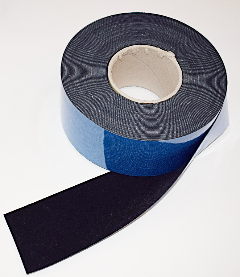 """3"""" x 60 ft Roll - Contrast Boosting Black Border Tape for Projector Screens - Flocked Velvet Fabric Frame Material - Premium Flock w/ Adhesive Backing - DIY"""
