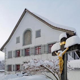 Kloster im Winter