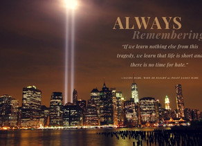 9/11: In Observance of The Day...