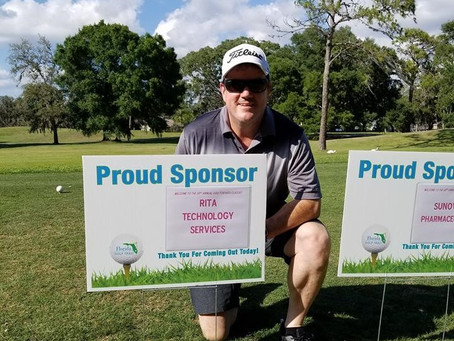 RITA in the Community: John Holton Plays A Round For Charity