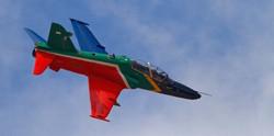 SAAF display Hawk-Henry Sabatino
