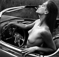 In my Corvette-Cliffy Els