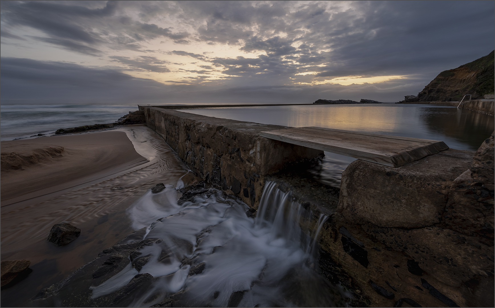 Sunrise Over Tidal Pool-Simon Fletcher