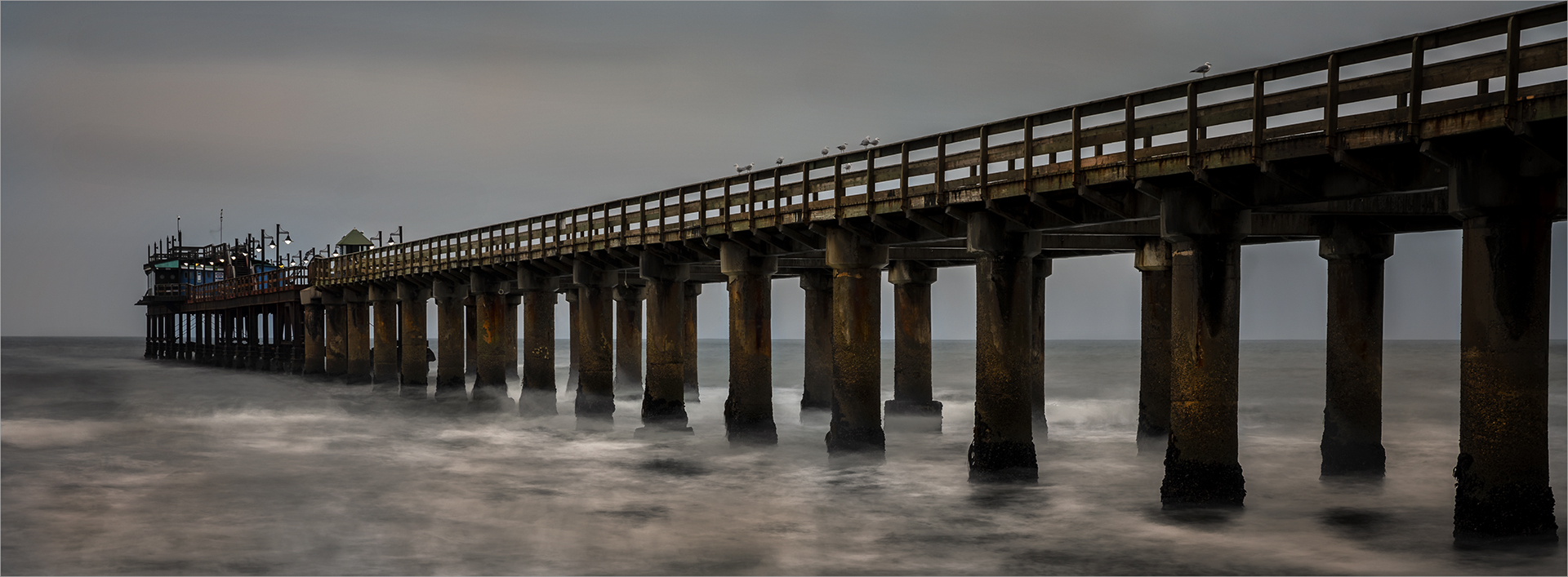 Cloudy evening at Swakop Pier-Russell Ja