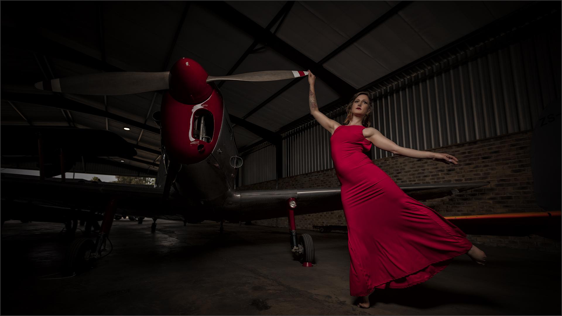 Red Plane Dancer-Simon Fletcher