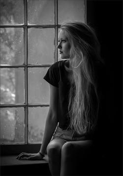 Gazing out the Window-Muriel Joubert