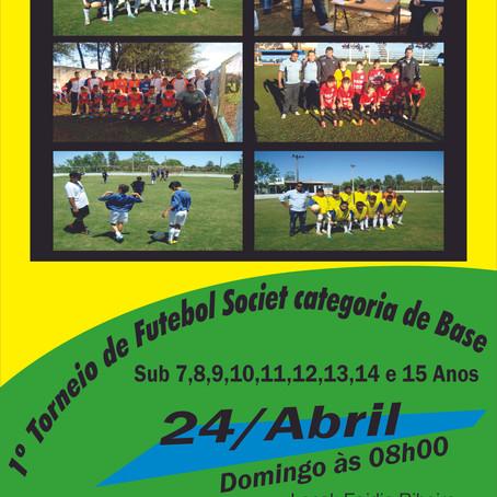 1º Torneio de Futebol Societ categoria de base sub 7 a 15 anos