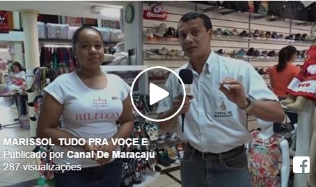 Lojas Marissol em destaque no Canal de Maracaju