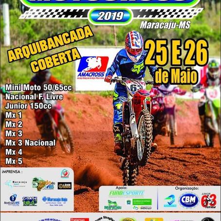 Motocross 2019: Abertura acontece no motódromo Osmar Ferreira neste domingo