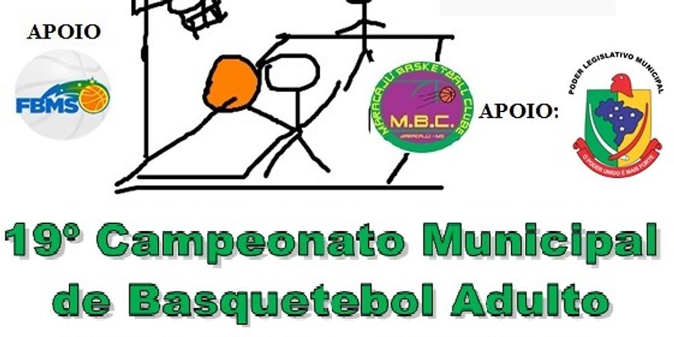 "19º Campeonato Municipal de Basquetebol Adulto ""CMBA-2018"""