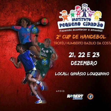 Campeonato de handebol finaliza agenda esportiva 2018