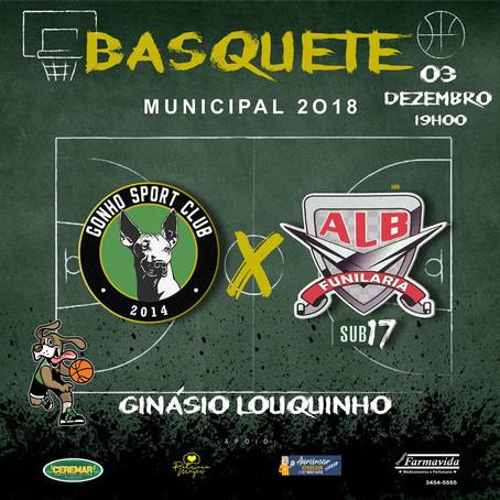 Gonho estréia com vitória no campeonato de Basquete