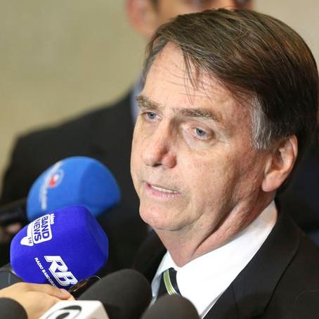 Diplomação de Bolsonaro deve ocorrer dia 10 de dezembro