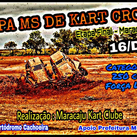 Kart com entrada grátis é o programa de domingo