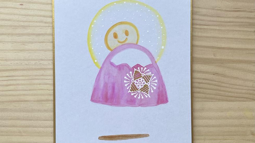 赤富士ベビー(胎児名はご自身で記入して下さい)
