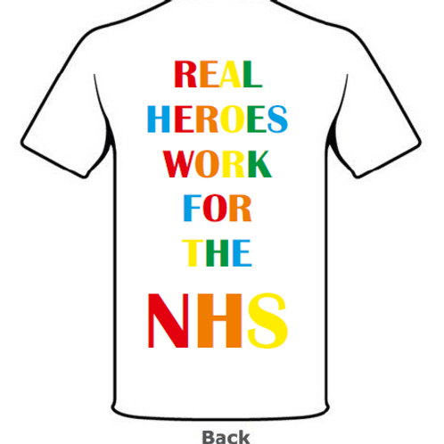 Heroes Unisex T-shirt White