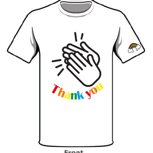 Thank You Unisex T-shirt White