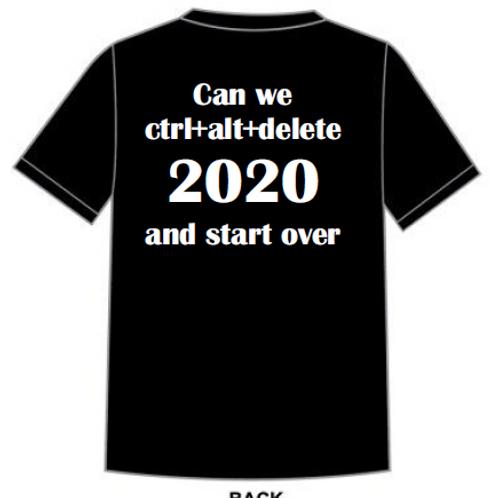 Ctrl Unisex T-shirt Black