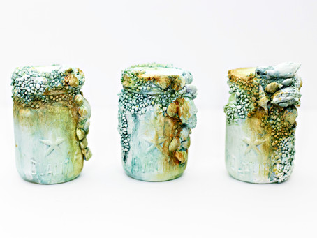 Rusty altered bottles
