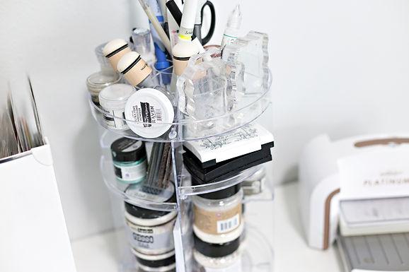 Craft Tower Desk Organizer