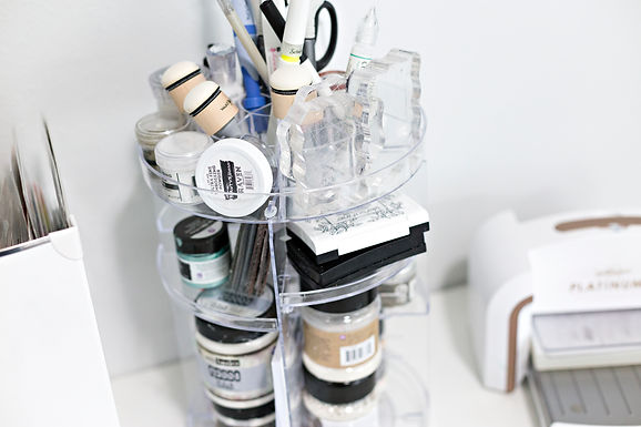 Craft Tower Desk Organizer