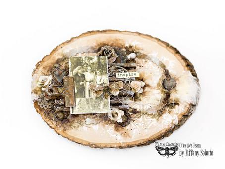 Altered Wood Slice