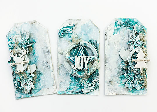 Online workshop | Winter Wonderland tags