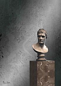 Busto di statua